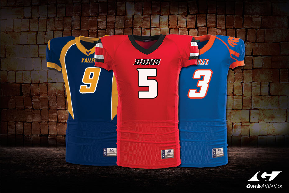 custom football jerseys garb athletics