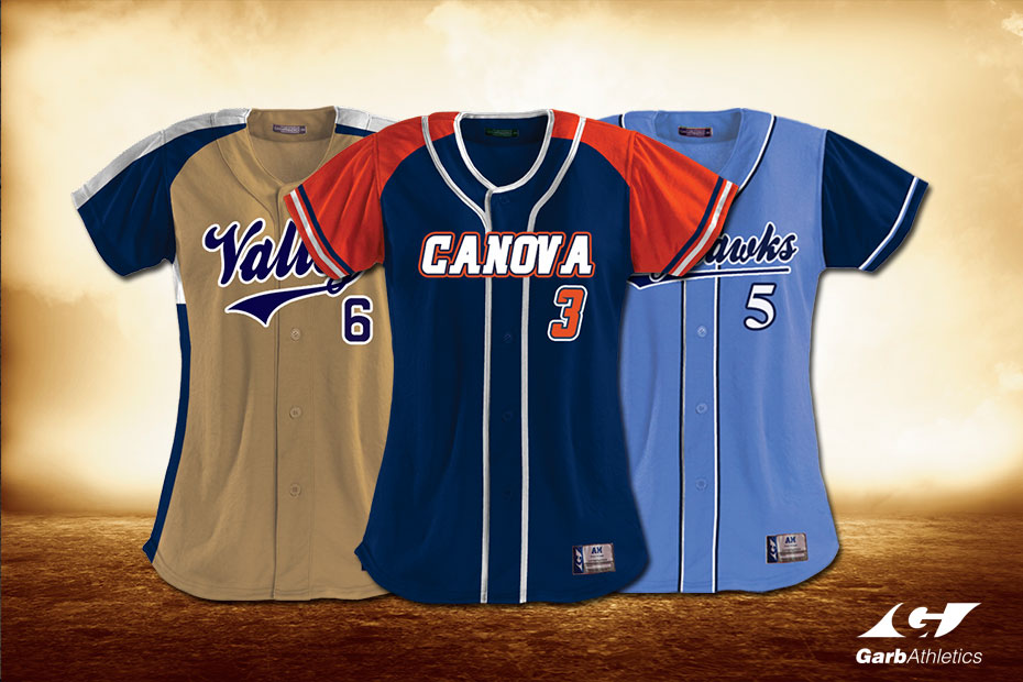 Custom Softball Jerseys | Garb Athletics